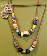 Necklaces by Erica Kane Fink