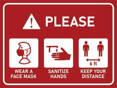 Safety precautions in the studio