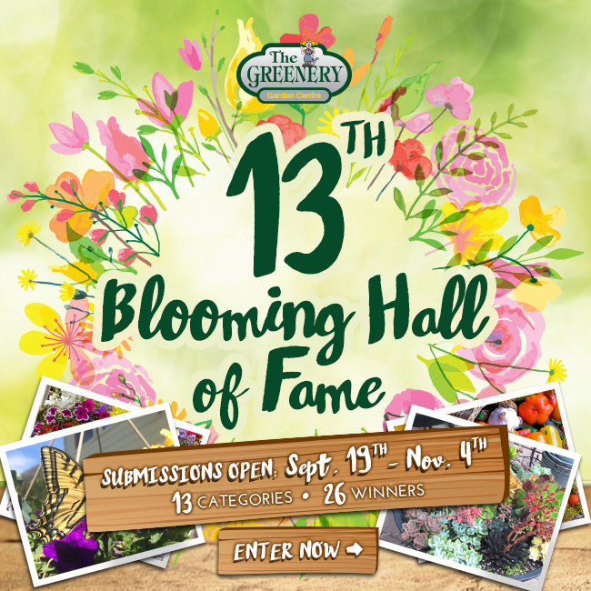 2019 Blooming Hall of Fame Enter Now