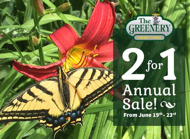 Greenery Garden Store Kelowna Annual Sale