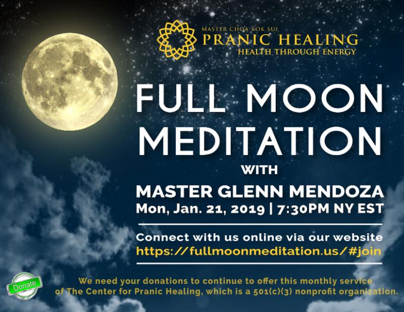 Aquarius Full Moon Meditation and Video Broadcast with