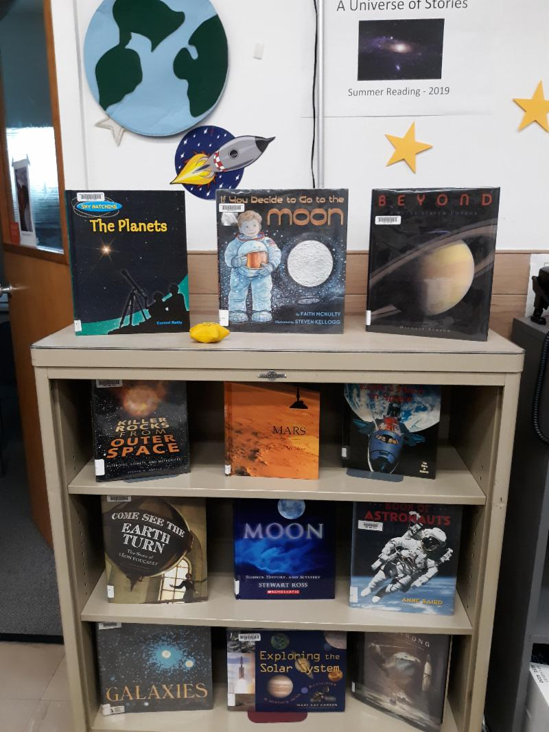 Summer space books