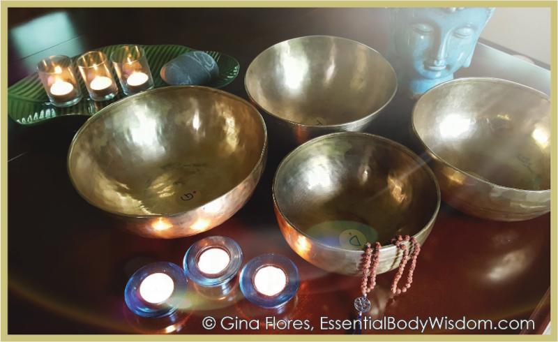 Gina Flores Tibetan Bowls