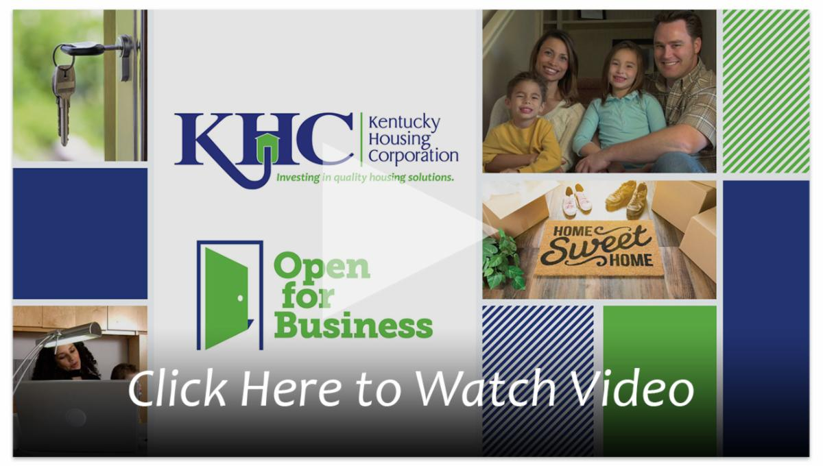 Click here to watch how KHC is still open for business during COVID-19.