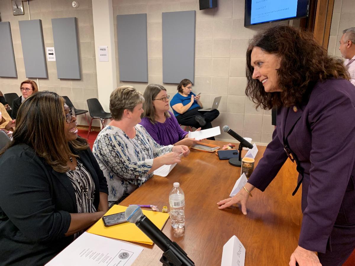 Medicaid Hearing CB + Speakers