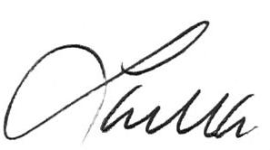 Laura McCoy signature