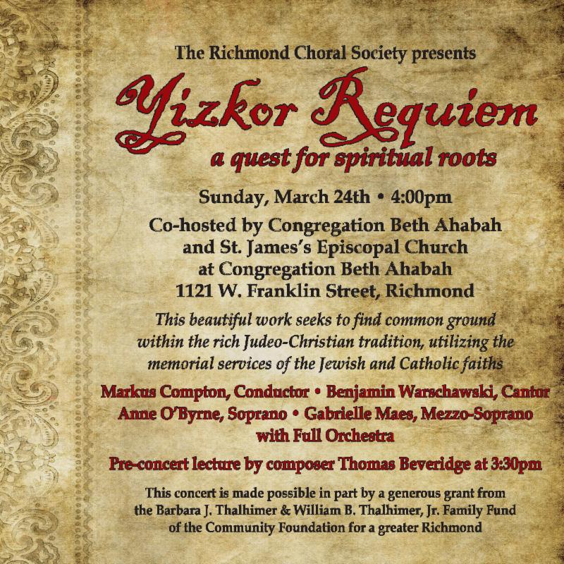 Yizkor Requiem INterfaith Dialogue