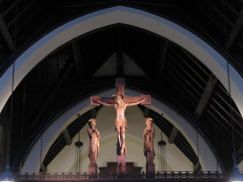 Rood screen chapel