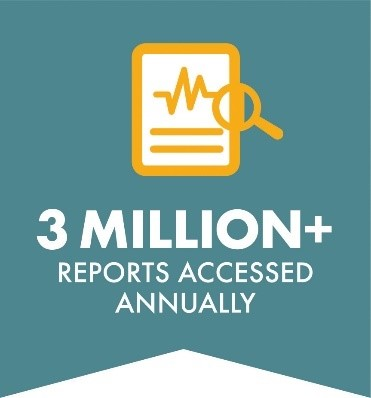 More than 3 Million Reports Accessed Annually