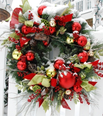 Christmas Wreath 2010