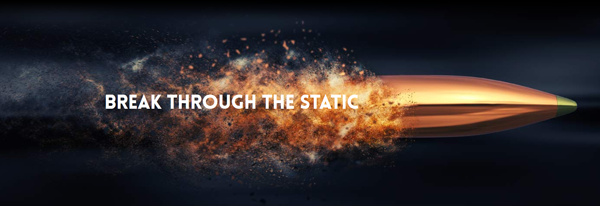 Break through the static