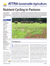 Nutrient Cycling ATTRA