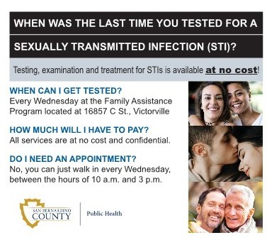 ad for sexually transmitted infection