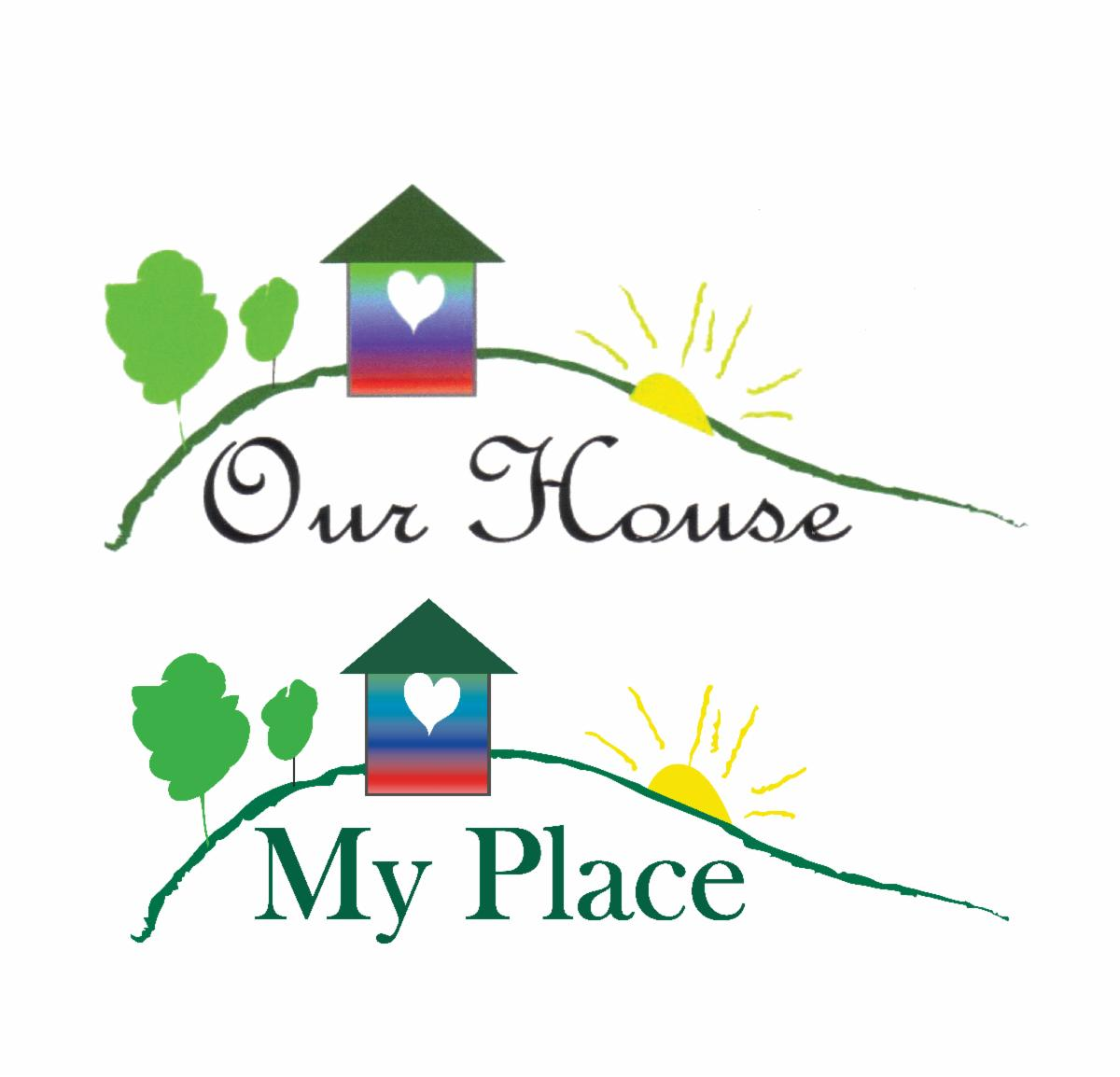 our house and my place logo