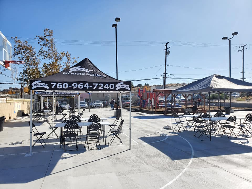 outdoor booths