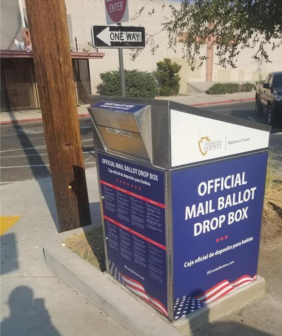 official mail ballot drop box