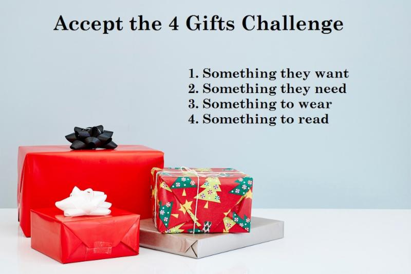 4 gifts challenge