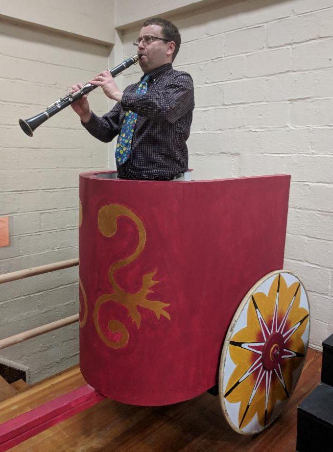 Seth on chariot