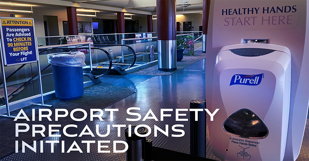 Airport Safety Precautions Initiated