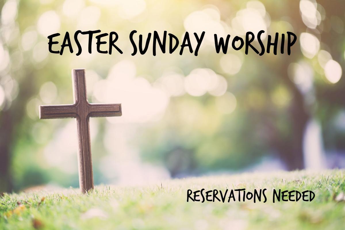 Easter Reservations RSVP