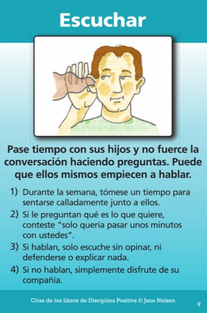 Spanish Listen Tool Kit Card