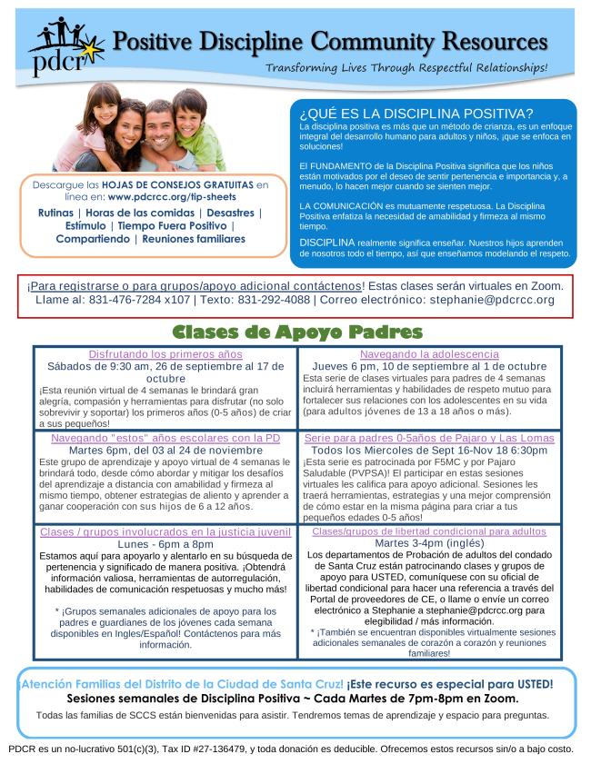 folleto PDCR