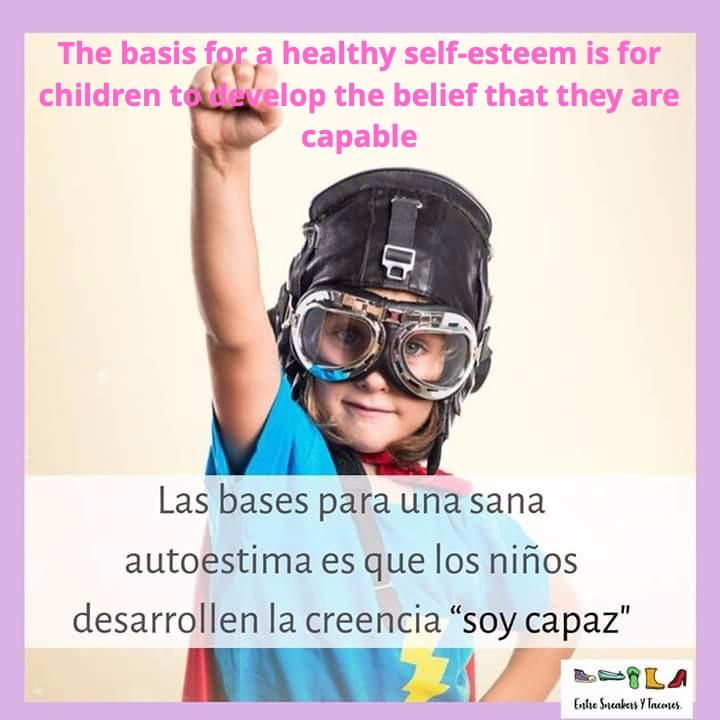 healthy self esteem is the priority