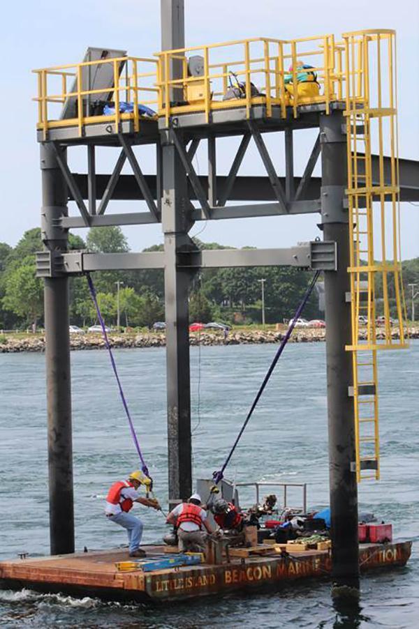 Tidal Turbine Deployment at BTTS