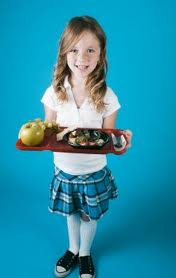child lunch tray