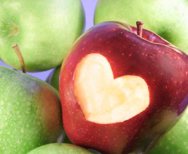 Heart Apple