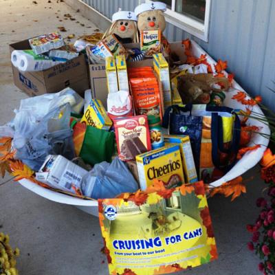 Boatload of generosity