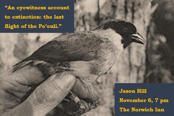 Jason Hill Suds & Science Po'ouli November 2018