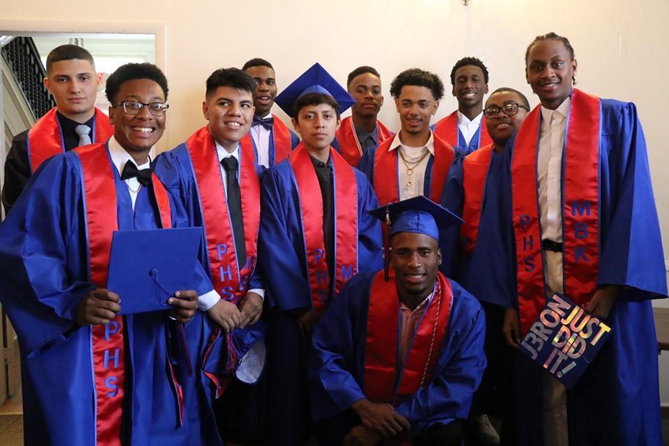Peekskill High School_s2019 MBK Graduates