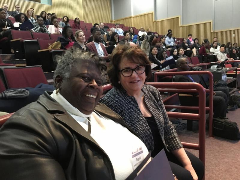 Regent Finn and Commissioner Elia at the TOC II Summit