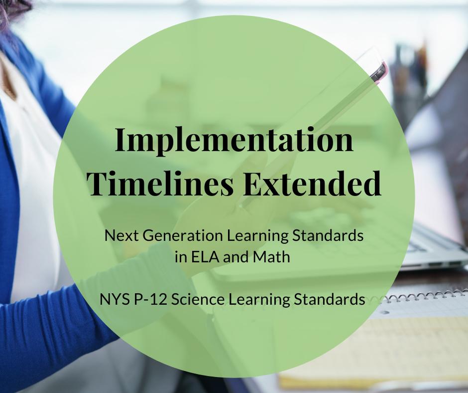 Implementation Timelines Extended