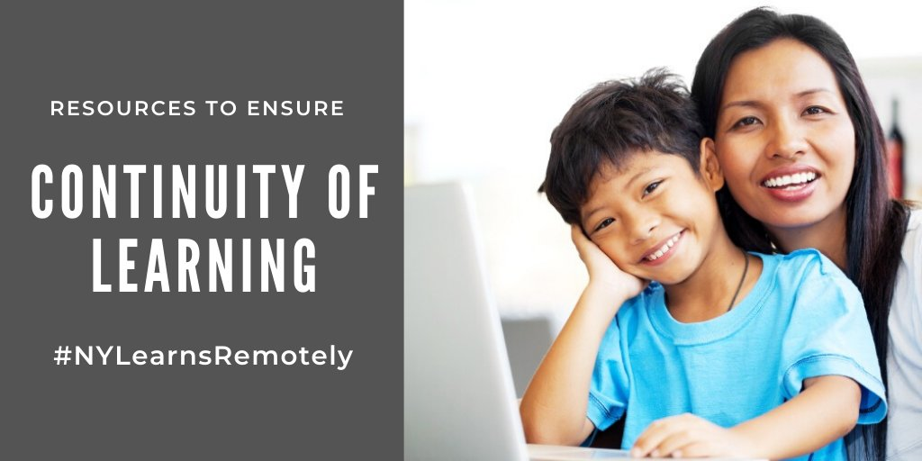 Resources to Ensure Continuity of Learning _NYLearnsRemotely
