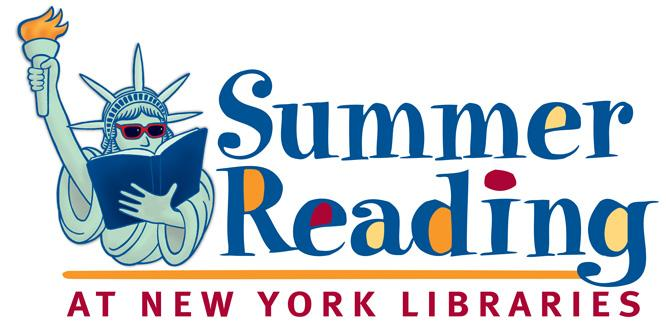 Summer Reading at New York Libraries logo