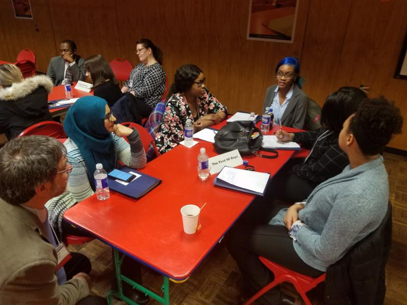 TOC II Summit participants engage in reflective conversations