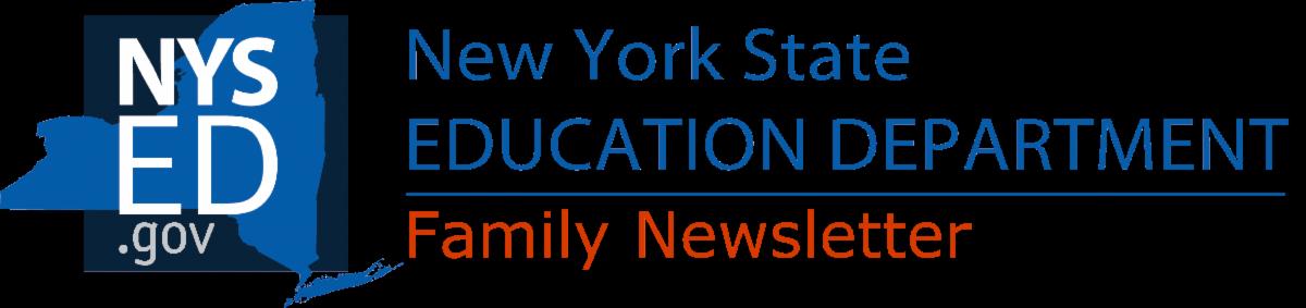 family newsletter banner