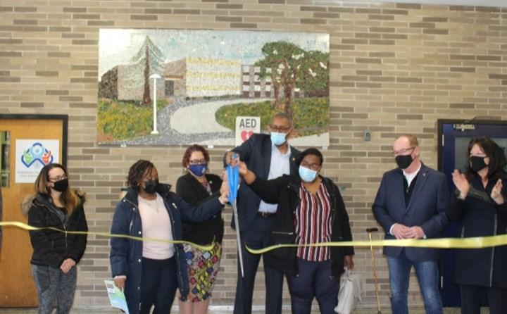 Poughkeepsie City School District Parent Empowerment Center (PEC) ribbon cutting