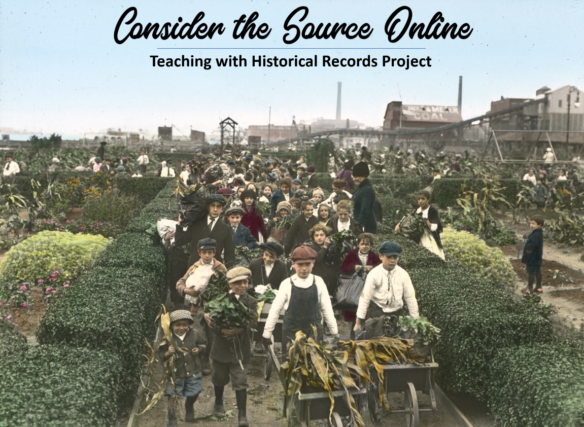 Consider the Source Online
