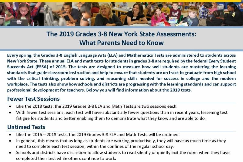 The 2019 Grades 3-8 New York State Assessments_ What Parents Need to Know