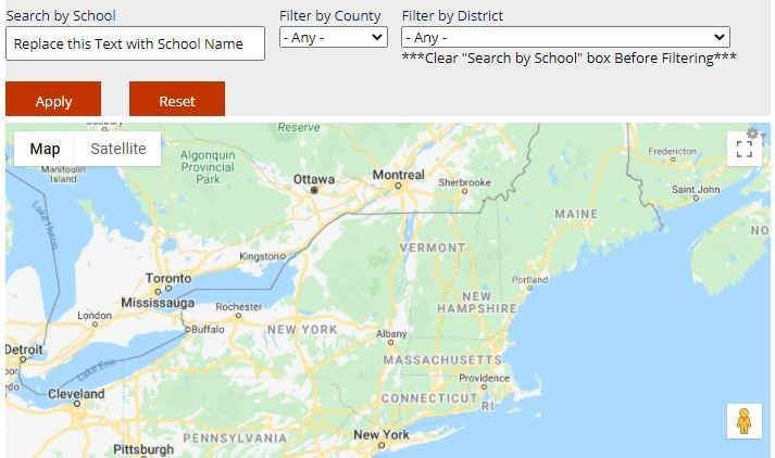 school reopening plans map