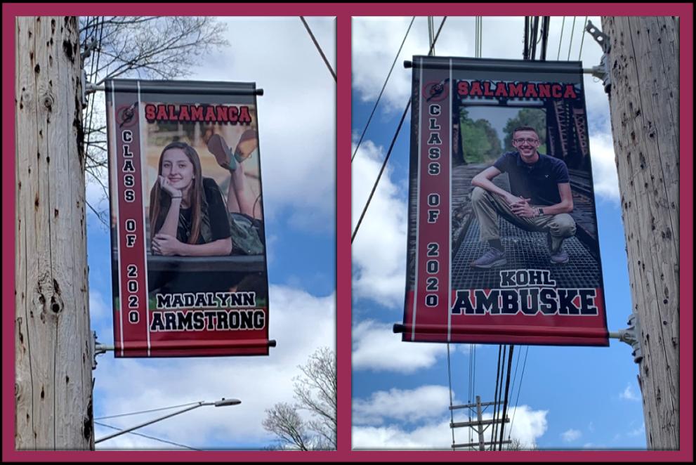 Salamanca Student Banners