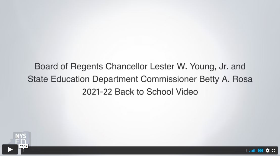 Back to School 2021 video