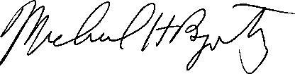 Byowitz signature