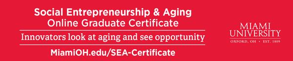 Link to website for Social Entrepreneurship and Aging Online Certificate