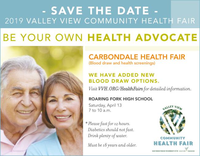 VVH Health Fair Q2 2019