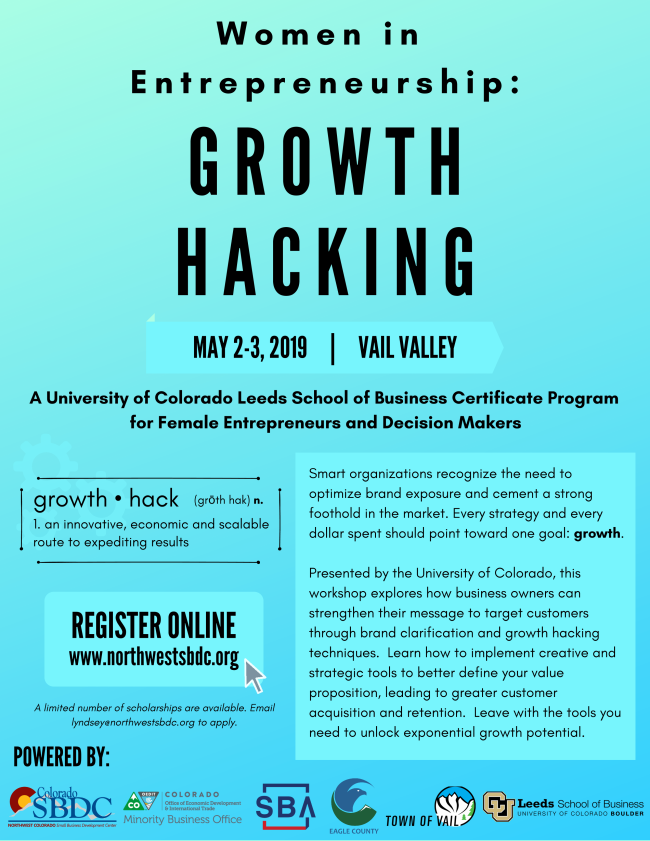 CU Growth Hacking May 2019