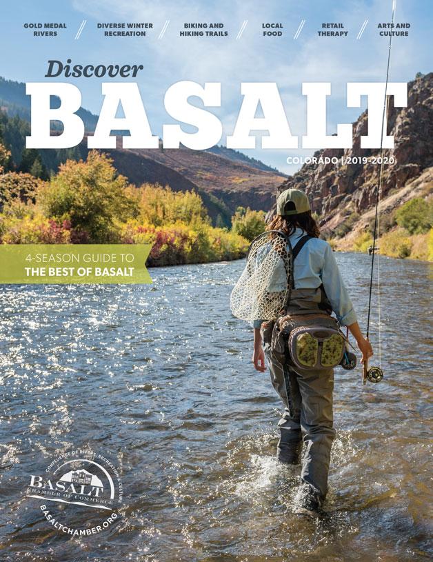 2019 Discover Basalt magazine cover